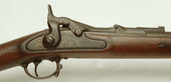 310: Civil War M1863 Springfield Rifle With Bayonet - 9