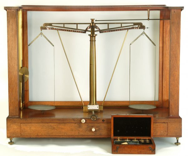 347: Fine Becker & Sons Scientific Balance Scale