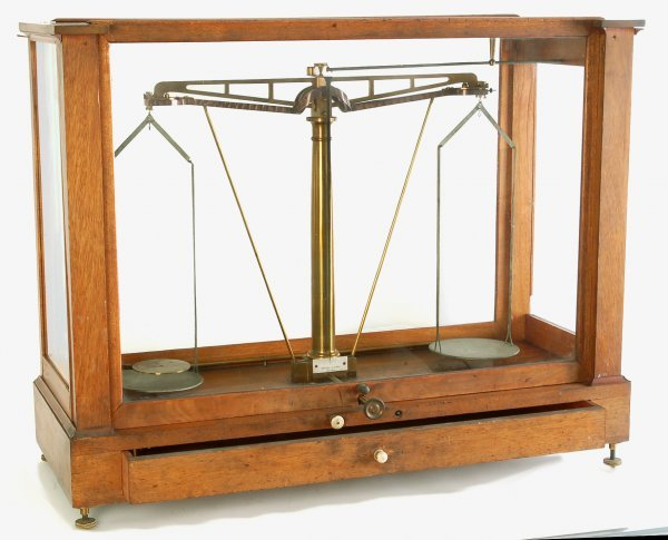 347: Fine Becker & Sons Scientific Balance Scale - 5