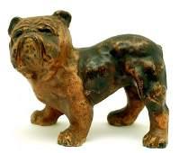 395: Hubley English Bulldog Cast Iron Doorstop