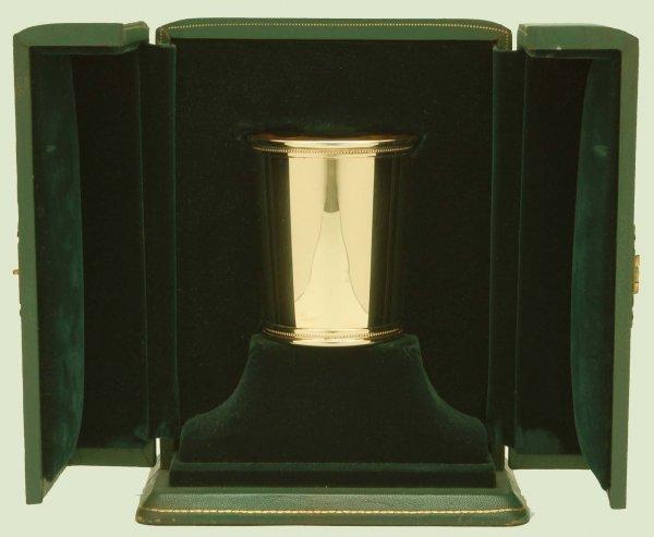 530: Mark J. Scearce Lyndon B. Johnson 14K Julep Cup - 3