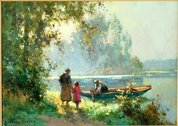 629: Edouard Cortes (French, 1882-1969)