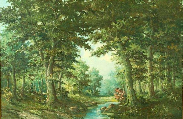 636: P.V. Schaik Jr (Dutch, 20th C)