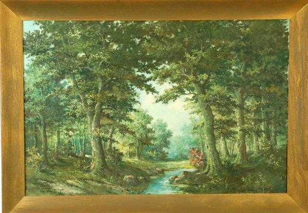 636: P.V. Schaik Jr (Dutch, 20th C) - 2