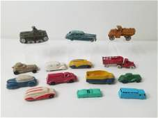 15 Toy Vehicles incl Sun Rubber
