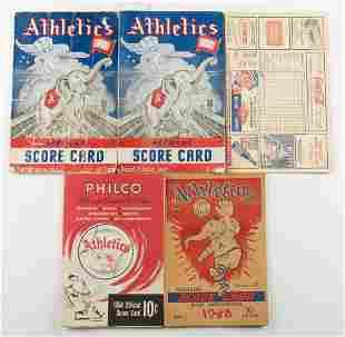 5 Athletics Score Cards