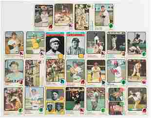 Over 400 1973 Cards with Hall of Fame