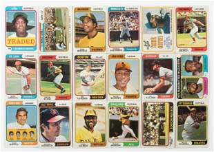Over 400 1974 Vintage Baseball Cards