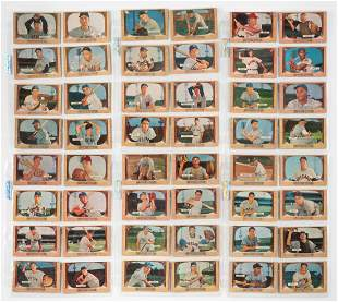1955 Bowman Set with Hall of Fame Players