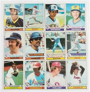 Over 200 1979 Topps Baseball Cards