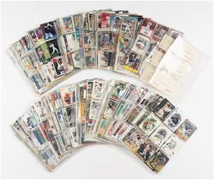 Approximately 800 Signed Modern Baseball Cards