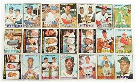 Over 300 Vintage Baseball Cards 19661969