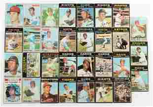 Over 300 Vintage Baseball Cards (1970-1971)