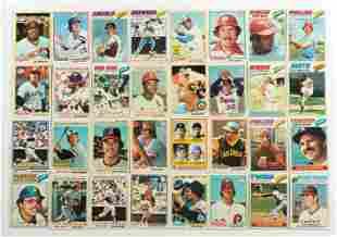 Over 150 Vintage Baseball Cards (1977-1978)