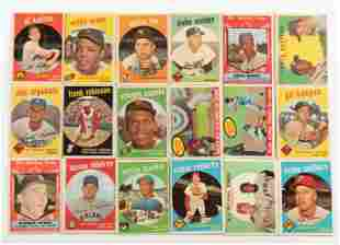 Over 300 Vintage Baseball Cards 1959