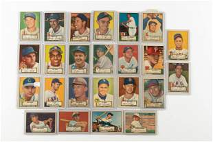 24 1952 Topps Cards