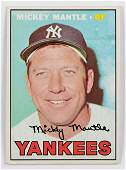 1967 Mantle Vintage Baseball Card