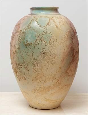 Tony Evans Raku Floor Vase