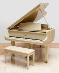 Yamaha C5 Conservatory Grand Piano with Bench