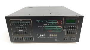 Alpha 9500 Amplifier