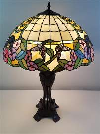Butterfly Tiffany Style Lamp