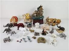 33 Pc Elephant Collection Incl Lenox