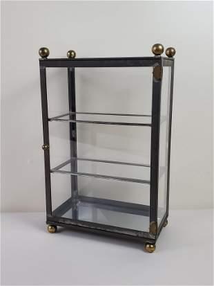 Glass & Metal Display Case