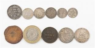 11 World Coins