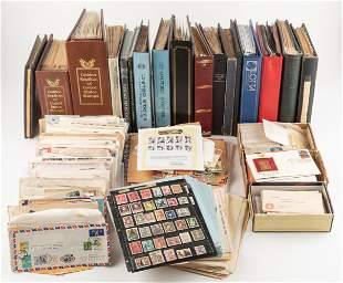 Large Worldwide Stamp Collection