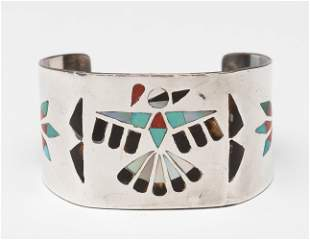 J.D. Massie Sterling Zuni Cuff Bracelet