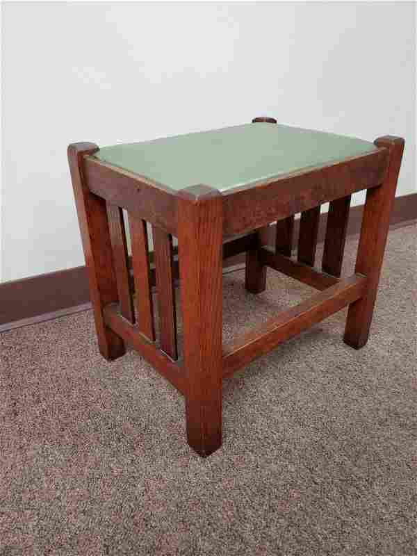 Arts and Crafts Foot Stool