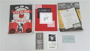 6 Vintage Catalogues incl. Jewelry and Watches