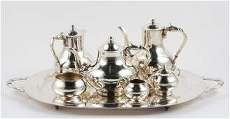 Sanborns, Mexico, Sterling Tea and Coffee Service