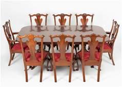 Irion Company 9 Pc Walnut Dining Suite