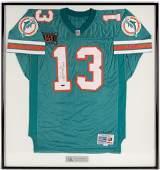 Dan Marino Autographed 343 Aqua Jersey with PSA #