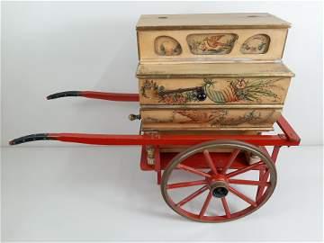 Faventia Barrel Organ with Cart