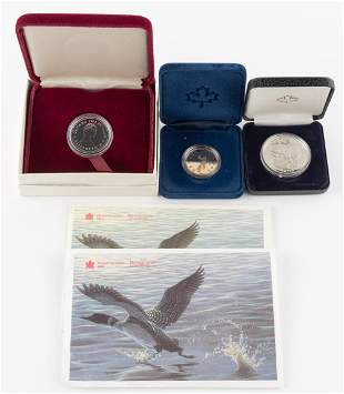 5 Items Incl. 1982 Canadian Silver Dollar