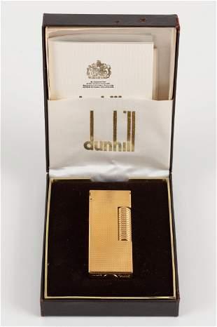 Dunhill Rollagas Lighter in Original Box