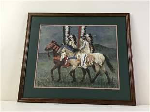 Howard Terpning Prairie Knights