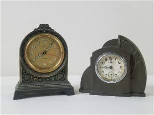 2 Art Deco Clocks