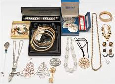 Large Group Vintage and Costume Jewelry