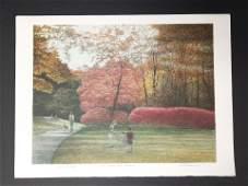 """Harold Altman """"Eli, Jessie & Minnie"""" Artist Proof Print"""