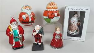 6 Pcs Christmas incl. Bristol Ware Roly Polys