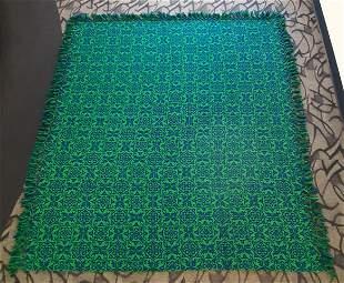 Abruzzesi King Size Italian Wool Coverlet