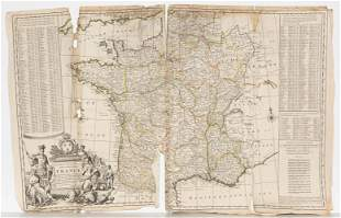 H. Moll, circa 1730s, Maps of Spain & Portugal