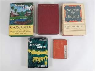 5 Vintage Books incl. Boshin War