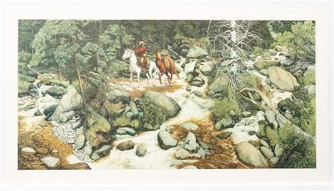 Ltd. Ed. Bev Doolittle, The Forest Has Eyes, Print