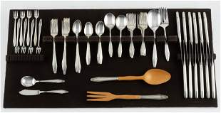 79 Pcs State House Formality Sterling Flatware