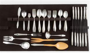 71 Pcs State House Formality Sterling Flatware