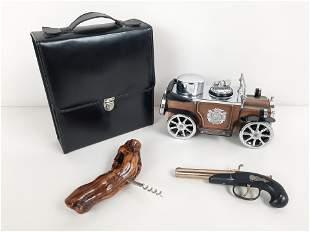 Pcs incl. Vintage Cigarette Lighter Car